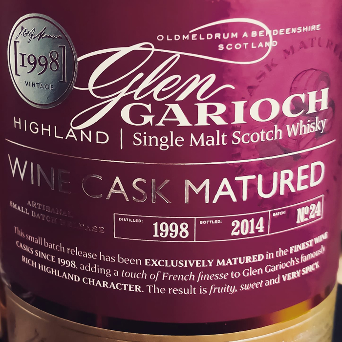 Glen Garioch – Vintage – Wine Cask Matured [48.0%, 1998/2014]