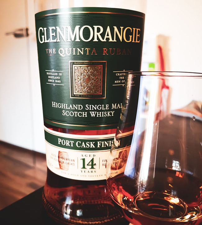 Glenmorangie Quinta Ruban 14 Jahre [46.0%, 2019, Ruby Port Pipe Finish]