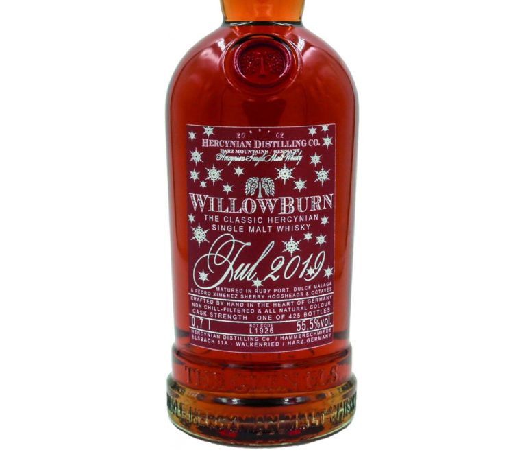 Willowburn Jul 2019 [55.5%, NAS, Port-, Malaga- & Sherry Casks, 425 Flaschen]