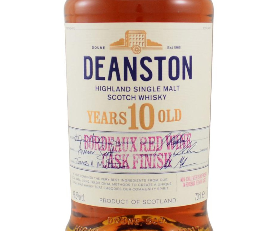 Deanston 10 Jahre [46.3%, Bordeaux Finish, 2019]