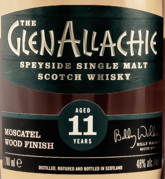 Glenallachie 11 Jahre – Moscatel Wood Finish [48,0%, 2020]