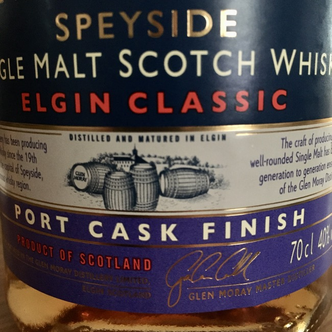 Glen Moray Port Cask Finish [40.0 %, 2017]