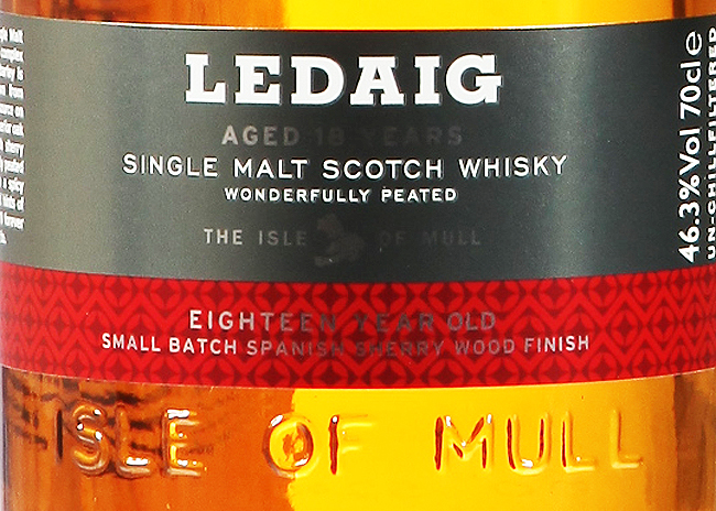 Ledaig 18 Jahre [46.3%, Batch 03, Spanish Sherry Wood Finish]