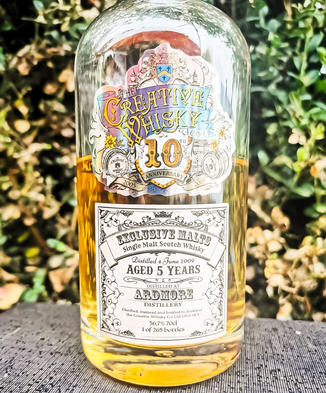 Ardmore 5 Jahre [56.7%, 2009/2015, Creative Whisky Company, Single Cask, 265 Flaschen]