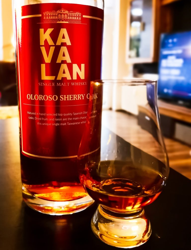 Read more about the article Kavalan Oloroso Sherry Oak [46.0 %, 2019]