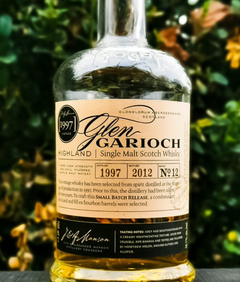 Glen Garioch Vintage 1997 [56.7 %, 15 Jahre, 1st & 2nd fill Ex Bourbon Casks, Batch No.12]