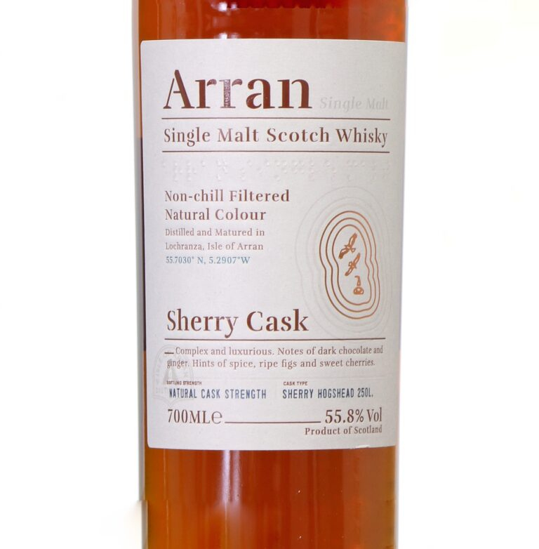 Read more about the article Arran The Bodega [55.8%, Sherry Casks, 2019]